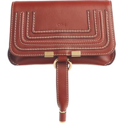 Chloe Marcie Convertible Belt Bag - Brown