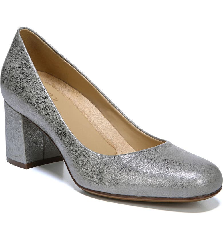 NATURALIZER Whitney Pump, Main, color, SILVER LEATHER