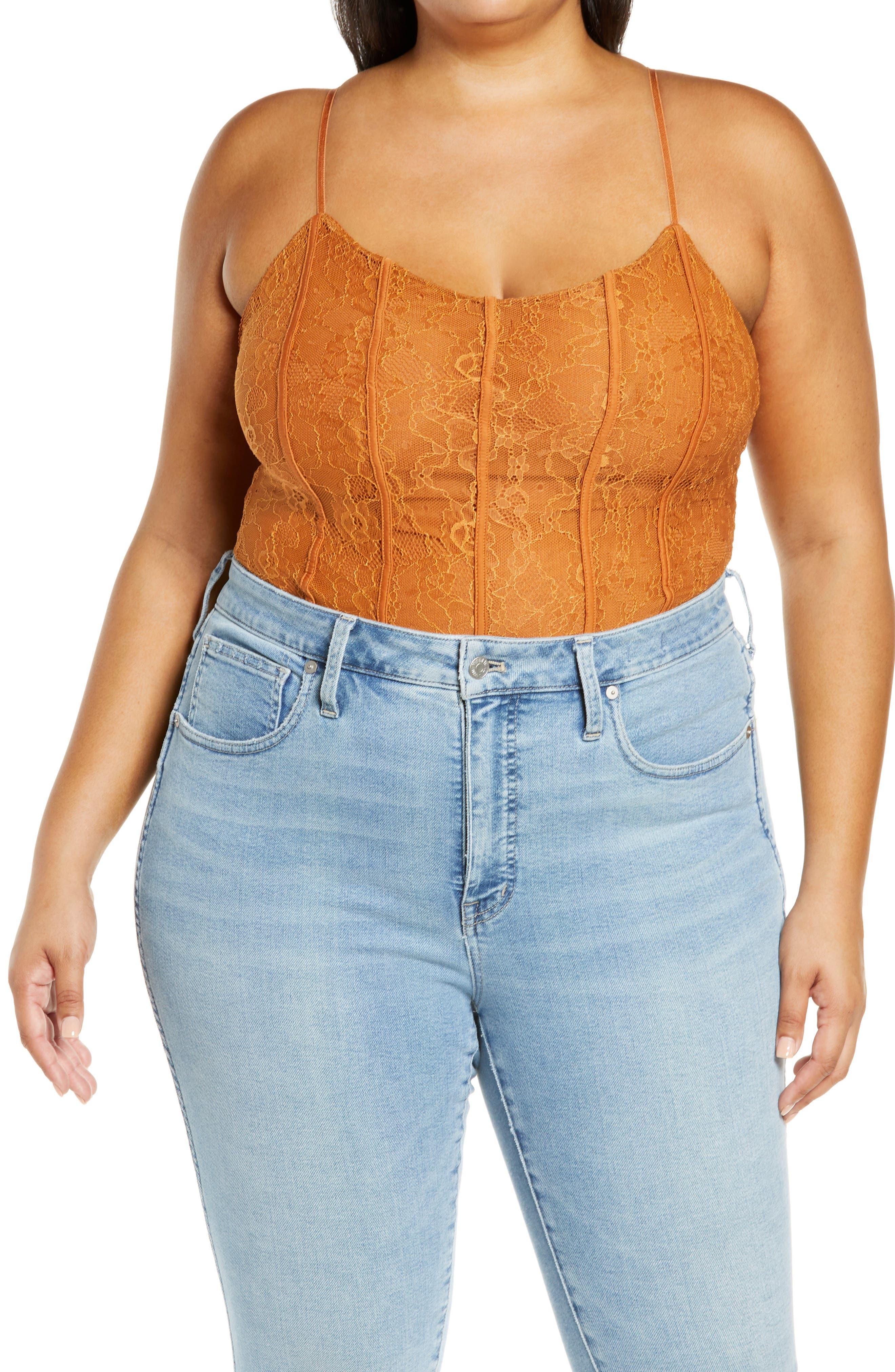 Catarina Stretch Lace Bodysuit