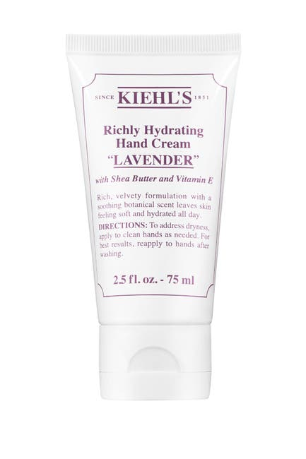 Image of Kiehl's Since 1851 Lavender Scented Hand Cream - Travel Size