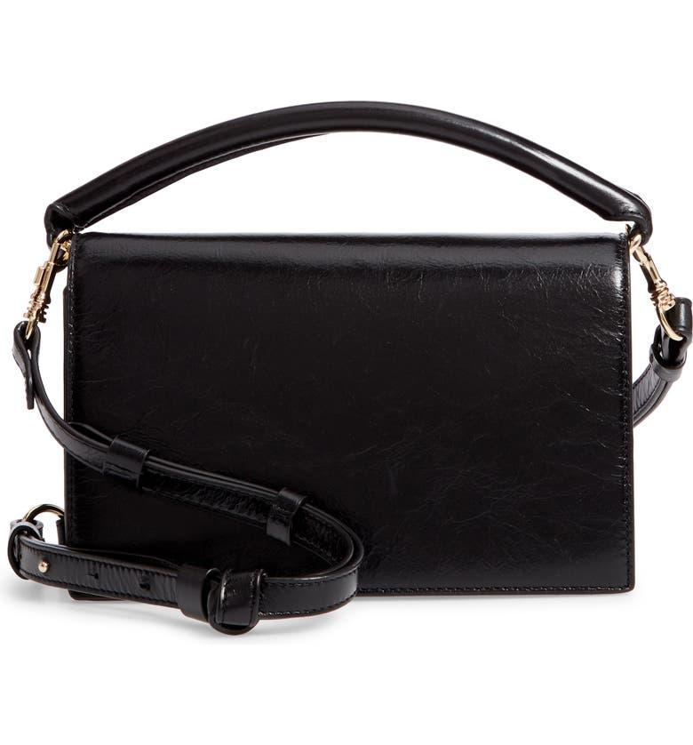 Dvf Bonne Soirée Leather Top Handle Bag