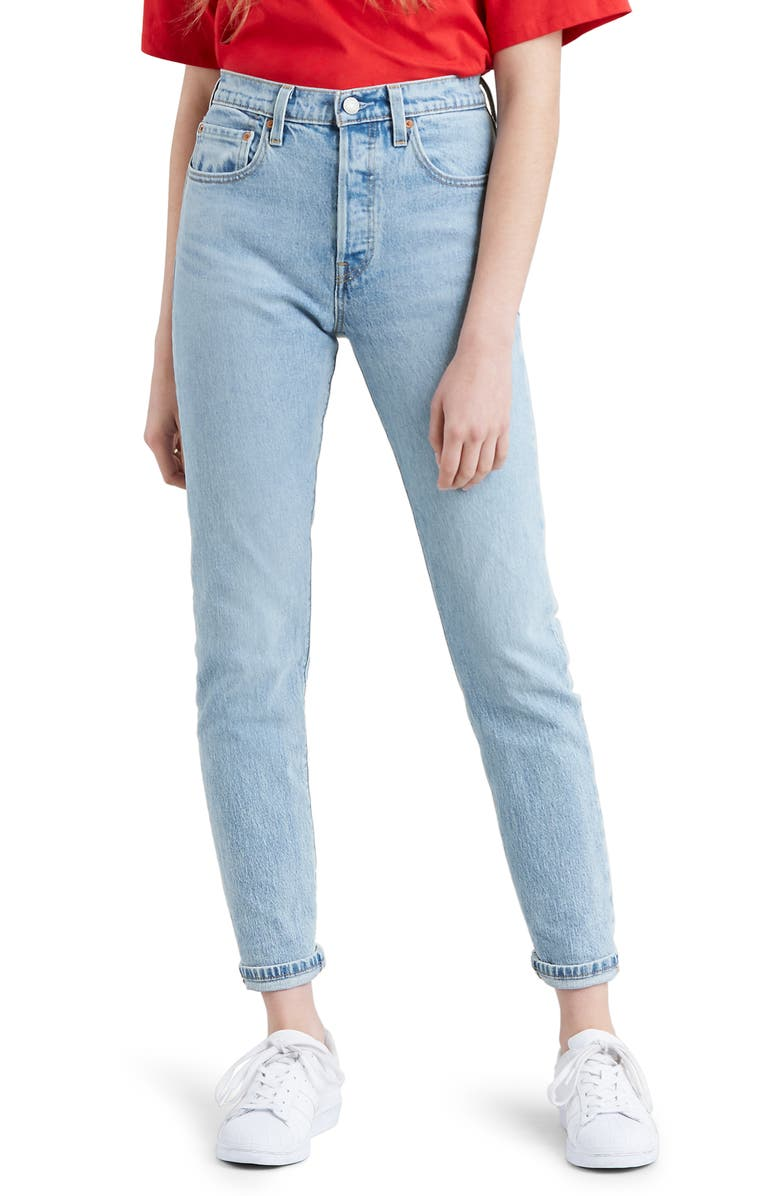 LEVI'S<SUP>®</SUP> 501<sup>®</sup> Skinny Jeans, Main, color, 450