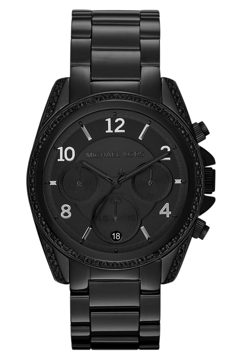 MICHAEL MICHAEL KORS Michael Kors 'Blair' Chronograph Watch, 39mm, Main, color, 001