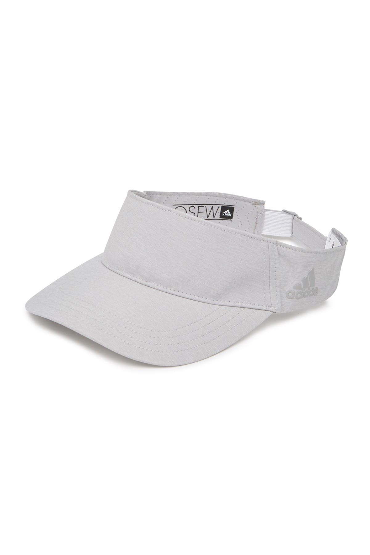 Image of Adidas Golf Crestable Heathered Visor