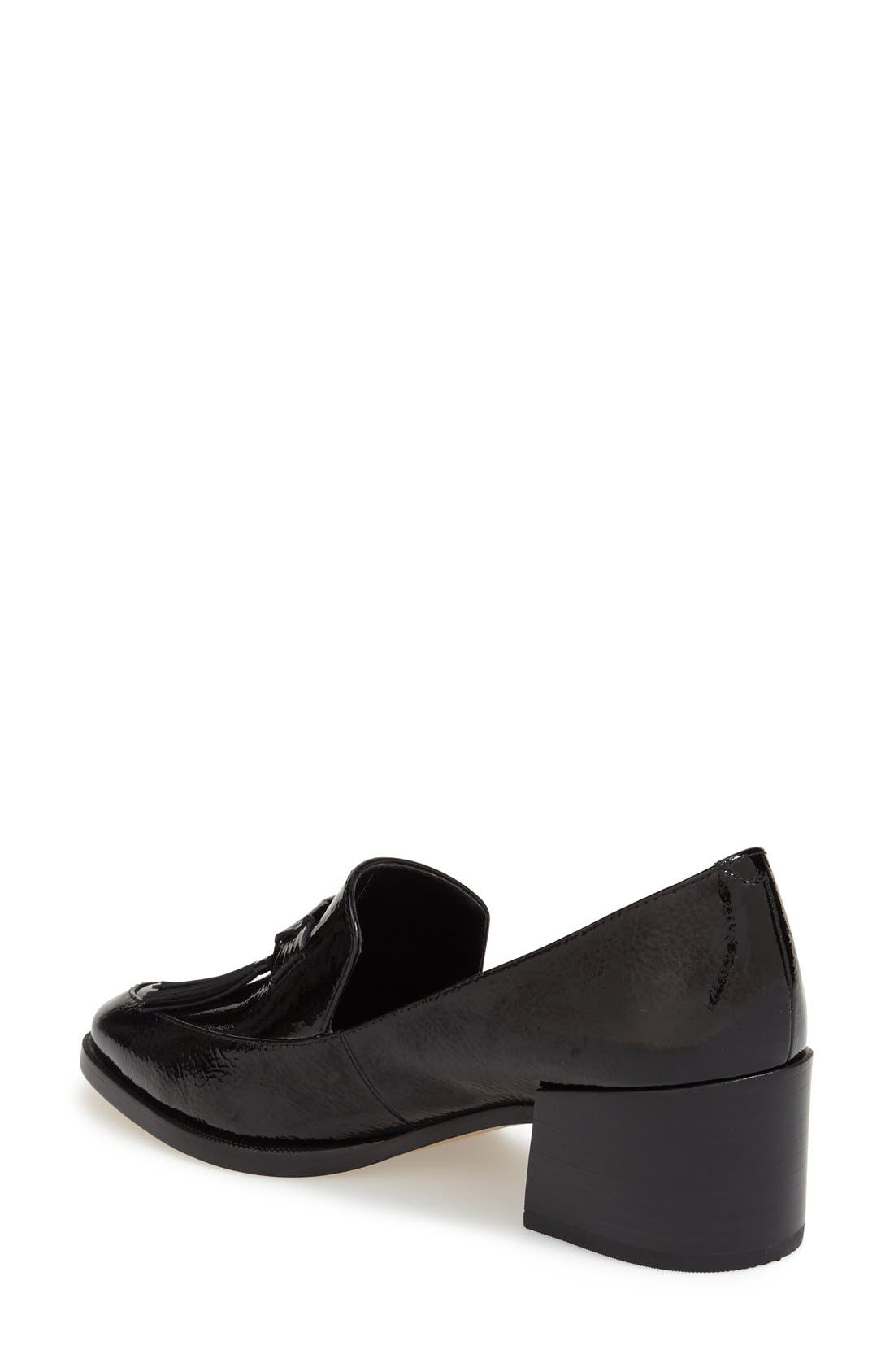 ,                             'Edie' Loafer,                             Alternate thumbnail 6, color,                             001