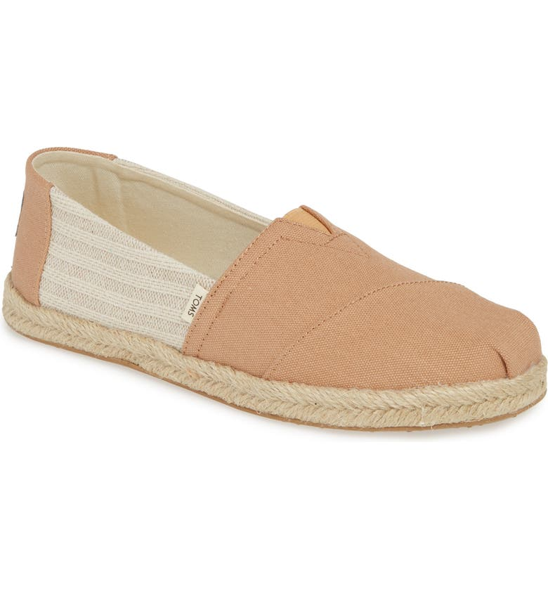 TOMS Alpargata Slip-On, Main, color, 250