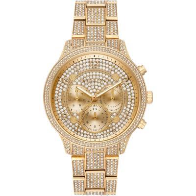 Michael Michael Kors Runway Crystals Bracelet Watch,