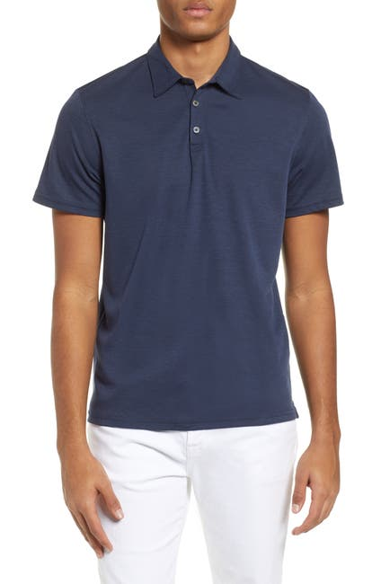 Image of Zachary Prell Caldwell Piqué Regular Fit Polo