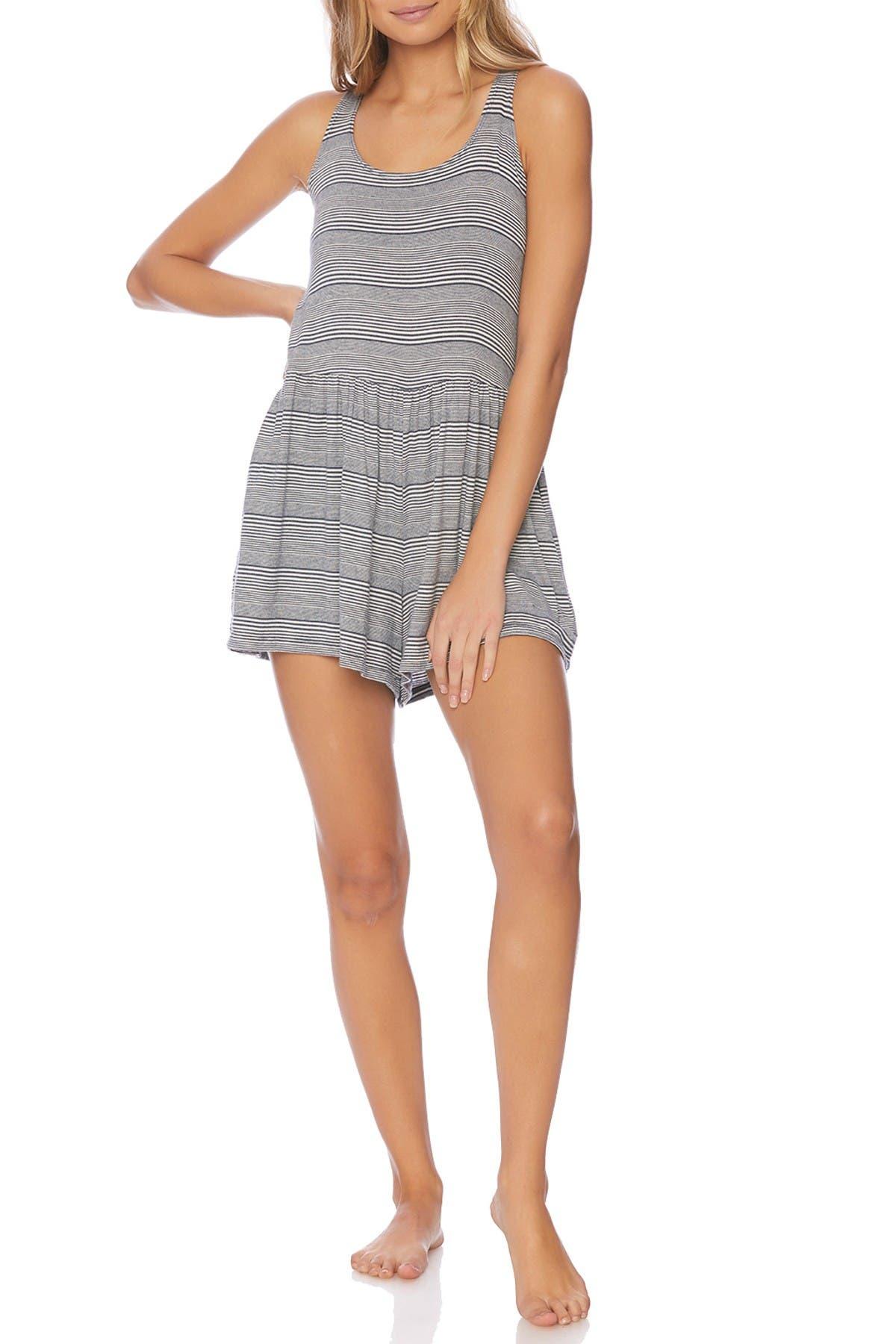 Image of Splendid Stripe Sleeveless Romper