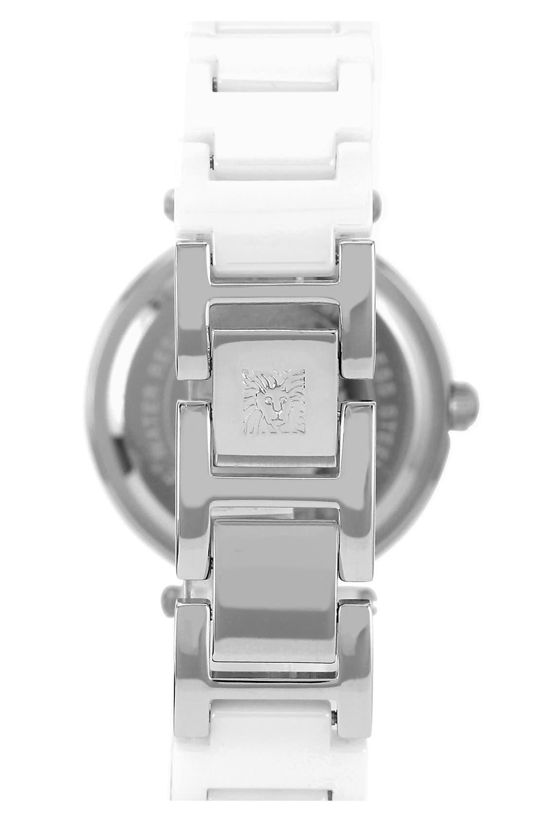 ,                             Round Ceramic Bracelet Watch, 31mm,                             Alternate thumbnail 9, color,                             102