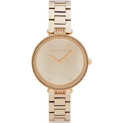 Rebecca Minkoff Nina Bracelet Watch, 3m