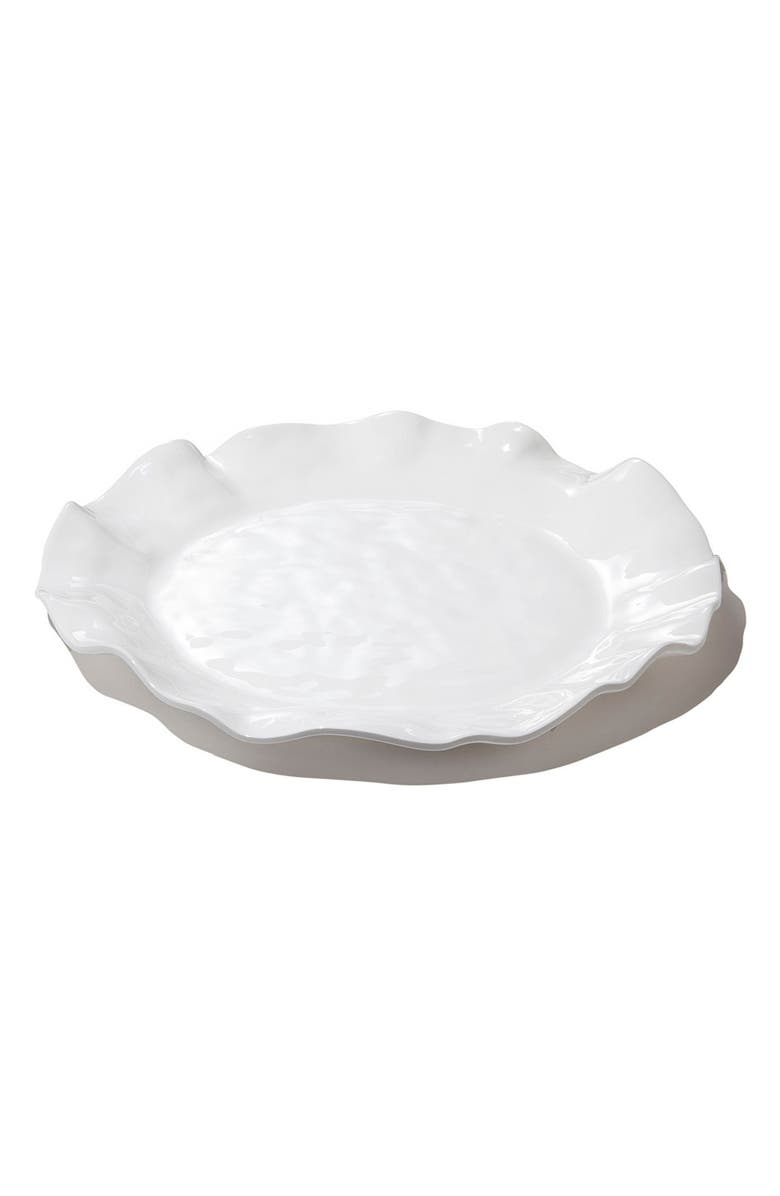BEATRIZ BALL COLLECTION Vida Havana Platter, Main, color, WHITE
