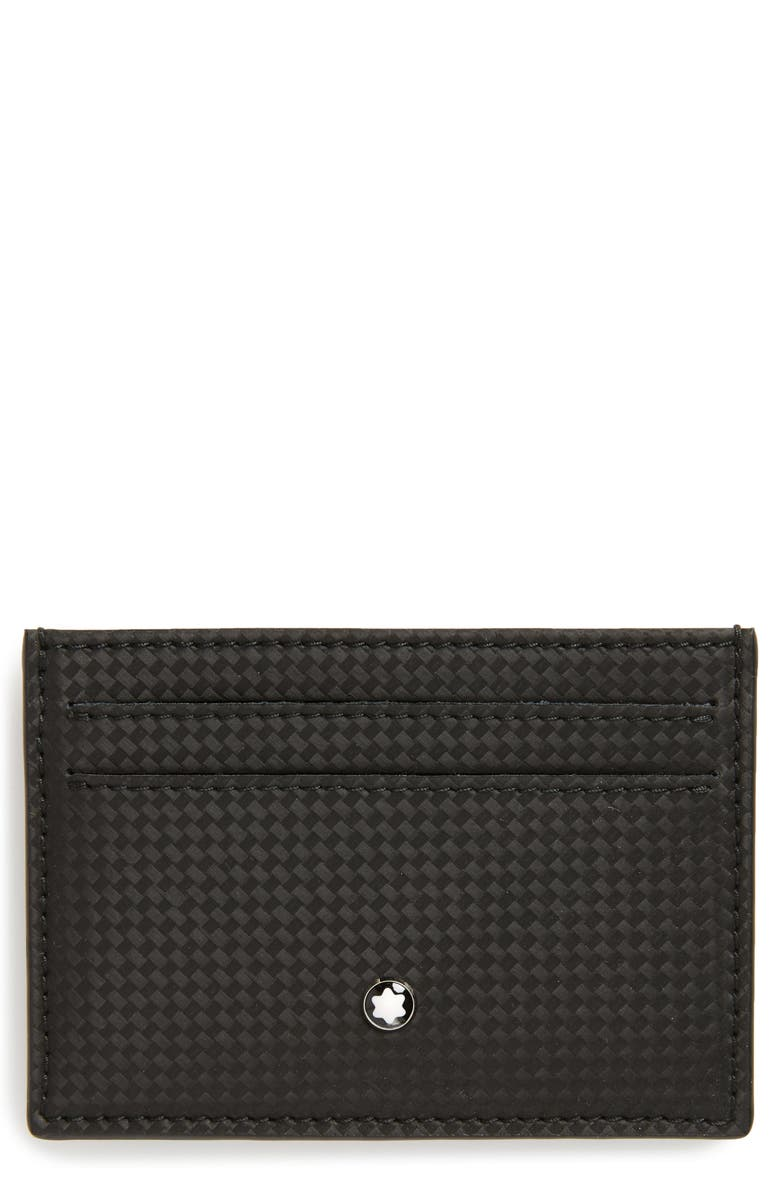 MONTBLANC Extreme Leather Card Case, Main, color, 001