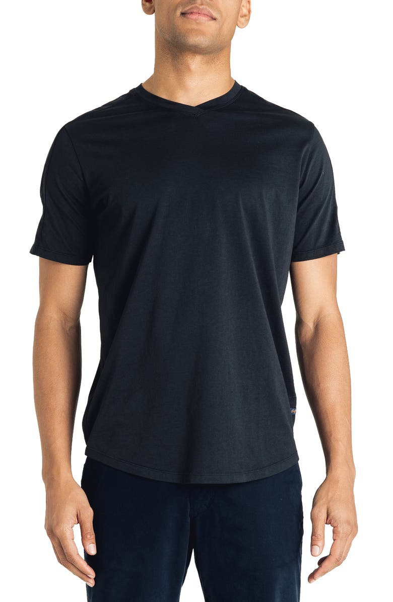 GOOD MAN BRAND Hi Vee Slim Fit T-Shirt, Main, color, BLACK