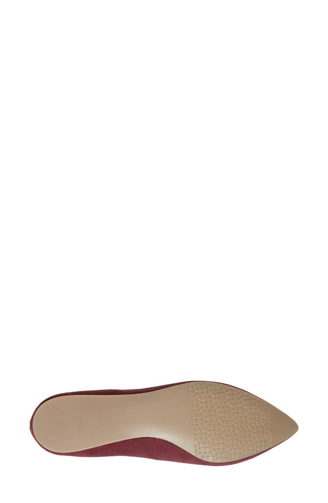 ,                             'Moveover' Pointy Toe Leather Flat,                             Alternate thumbnail 46, color,                             933