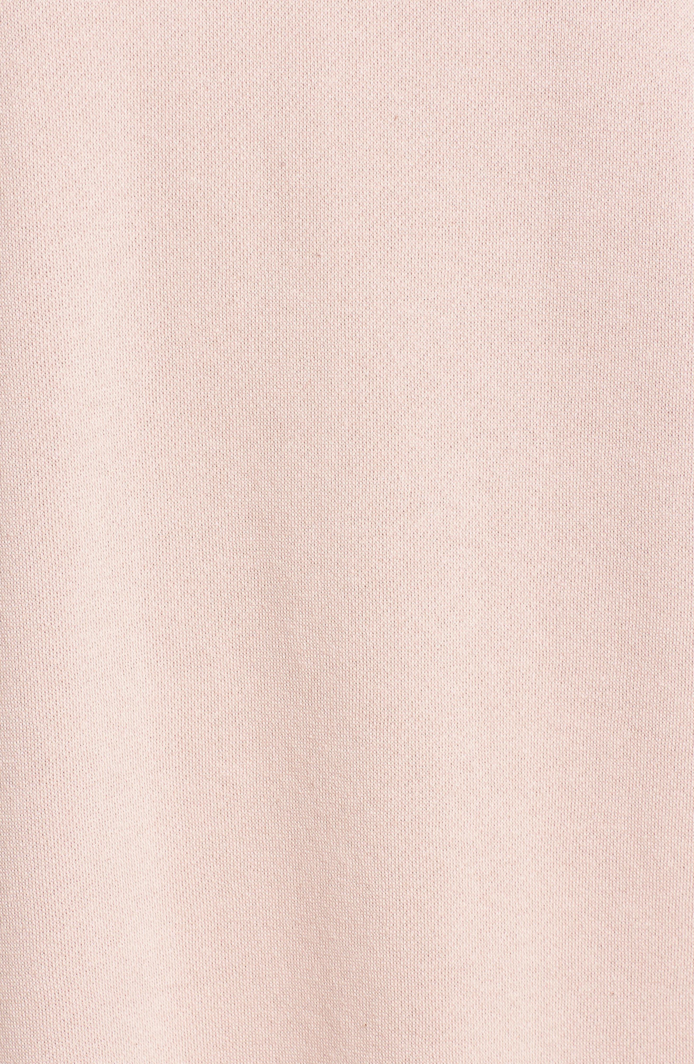 ,                             Ruched Sleeve Sweatshirt Dress,                             Alternate thumbnail 17, color,                             650