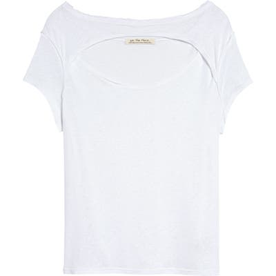Free People June Tee, White