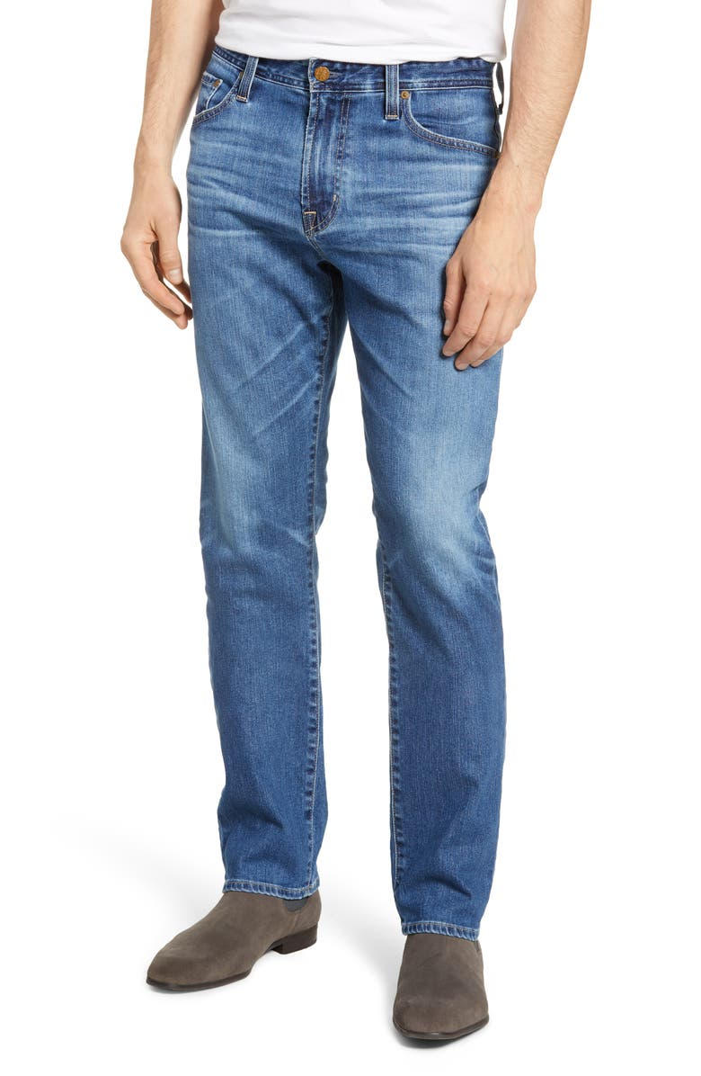 AG Everett Slim Straight Leg Jeans, Main, color, 487
