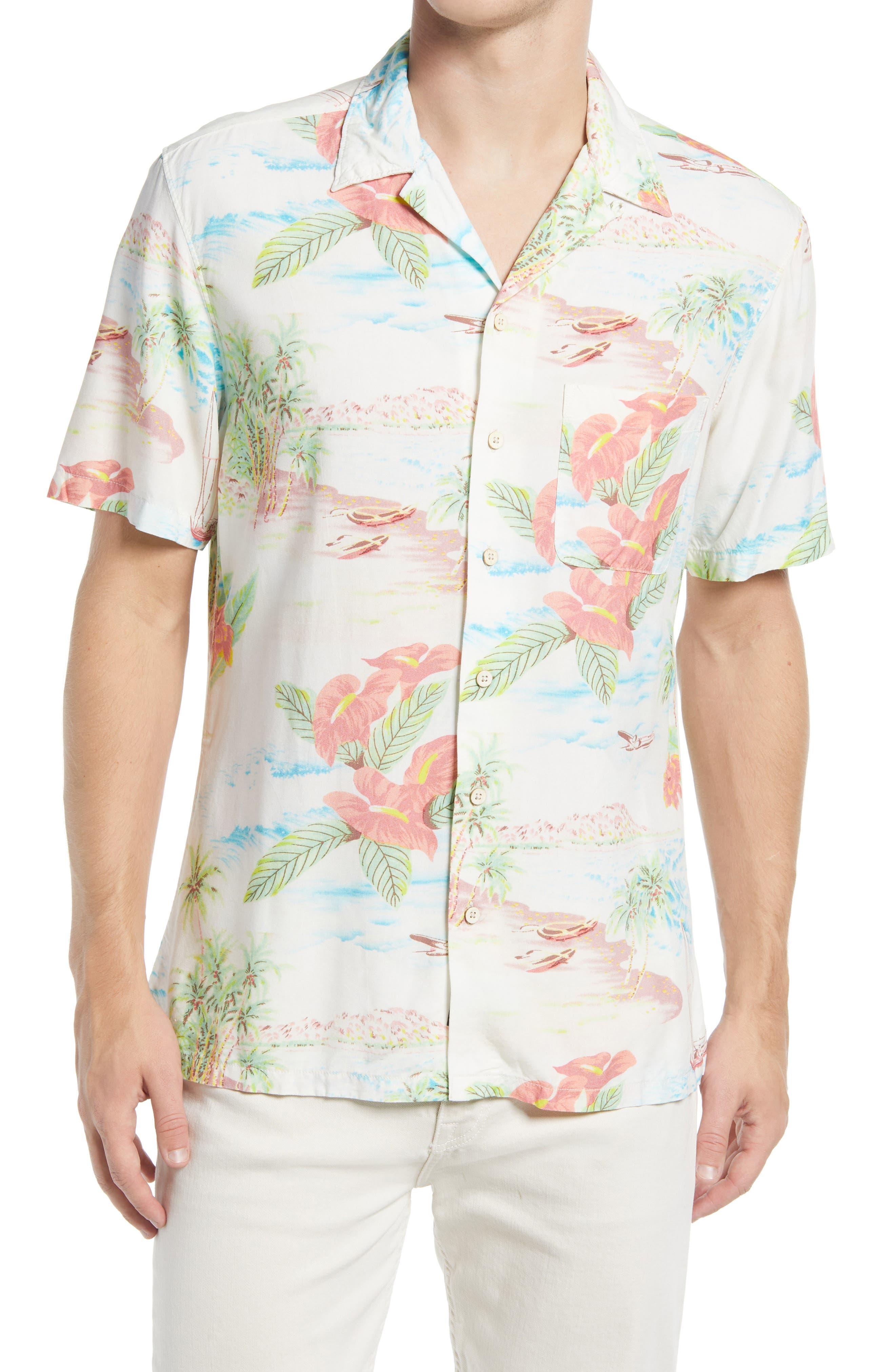 Kona Short Sleeve Button-Up Camp Shirt