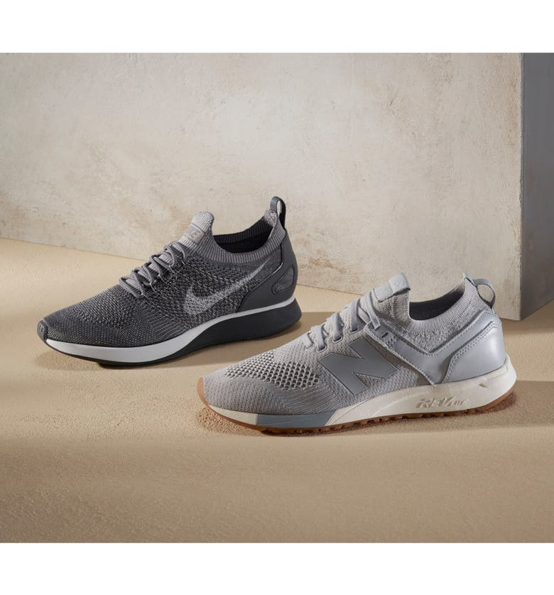 NIKE Air Zoom Mariah Flyknit Racer Sneaker, Main, color, BLACK/ RACER BLUE/BLACK/WHITE
