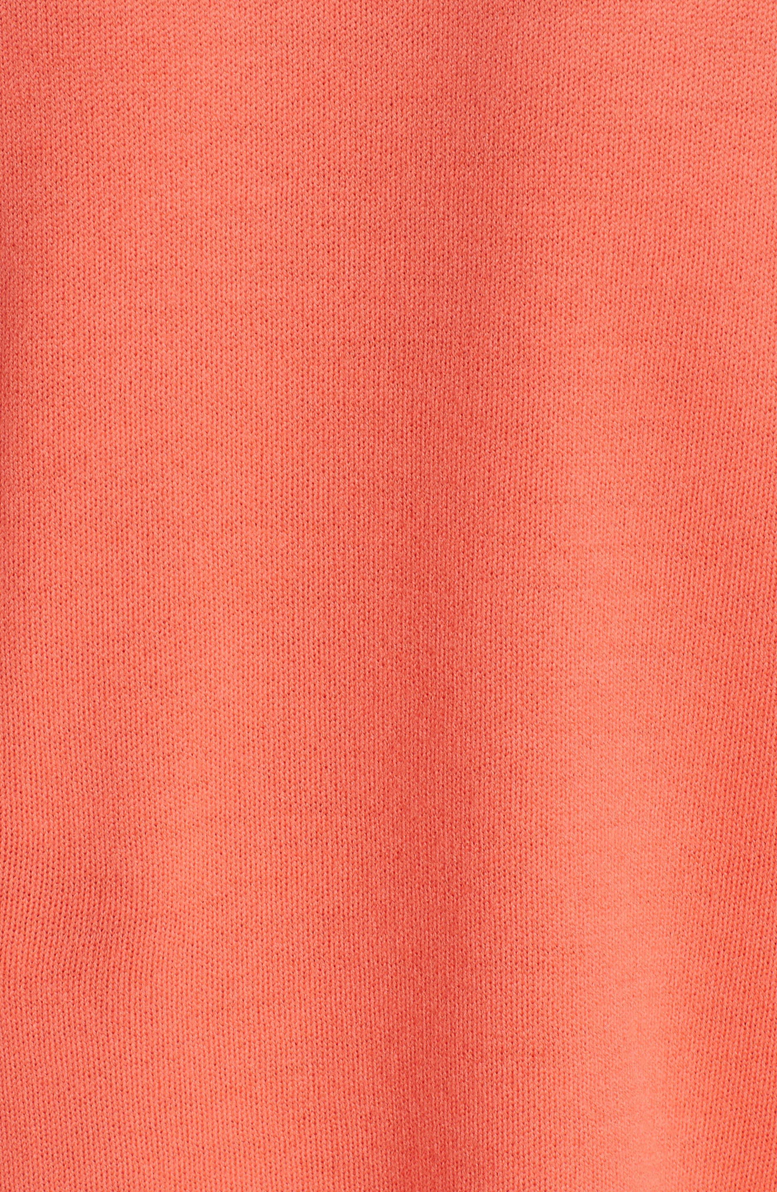 ,                             Float Jacquard Merino Wool Butterfly Sweater,                             Alternate thumbnail 5, color,                             BLOSSOM