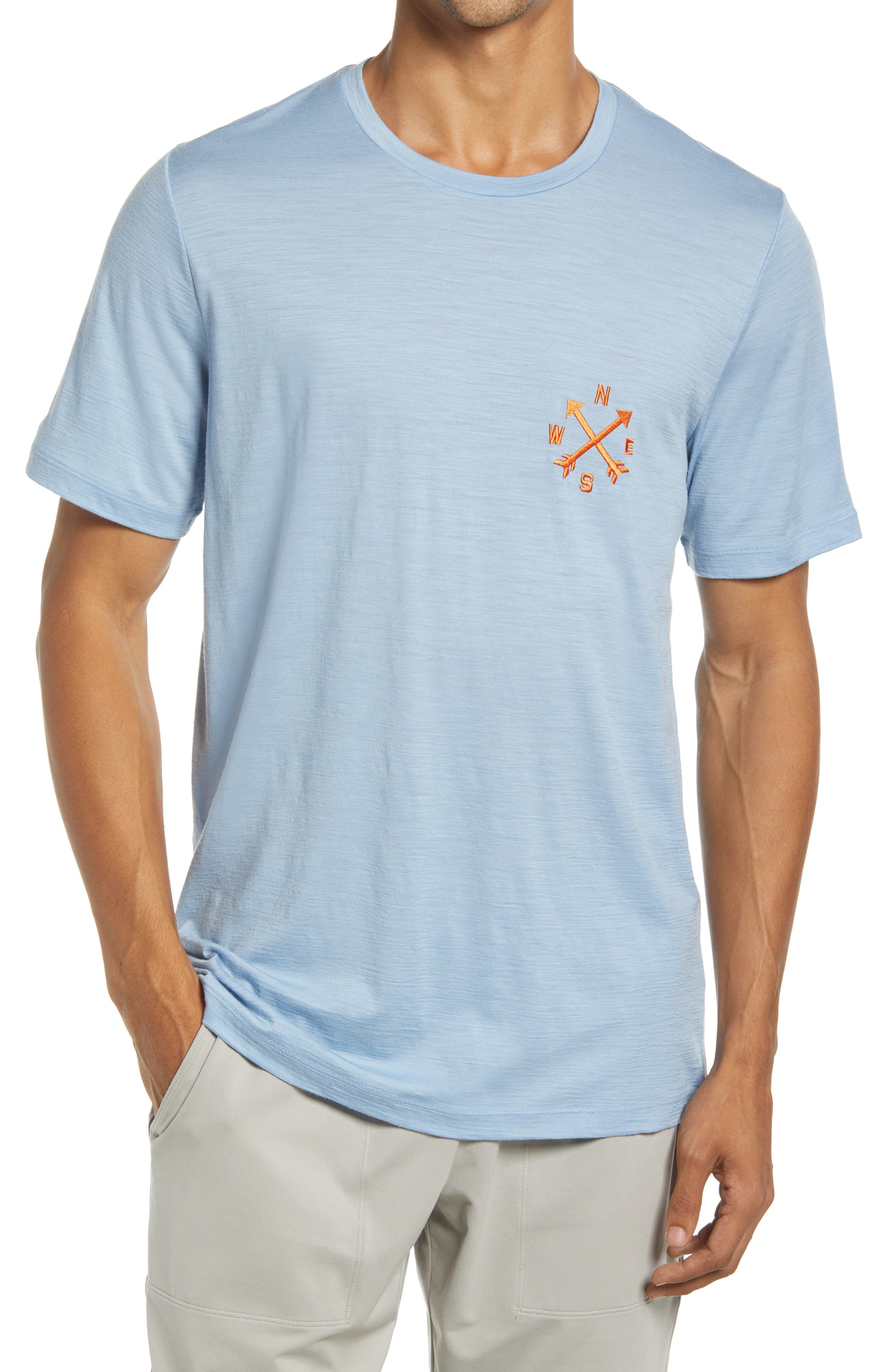 Tech Lite Ii Nonetwork Embroidered T-Shirt