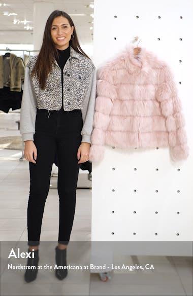 Faux Fur Tiered Coat, sales video thumbnail