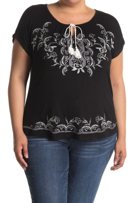 Image of Forgotten Grace Embroidered Blouse