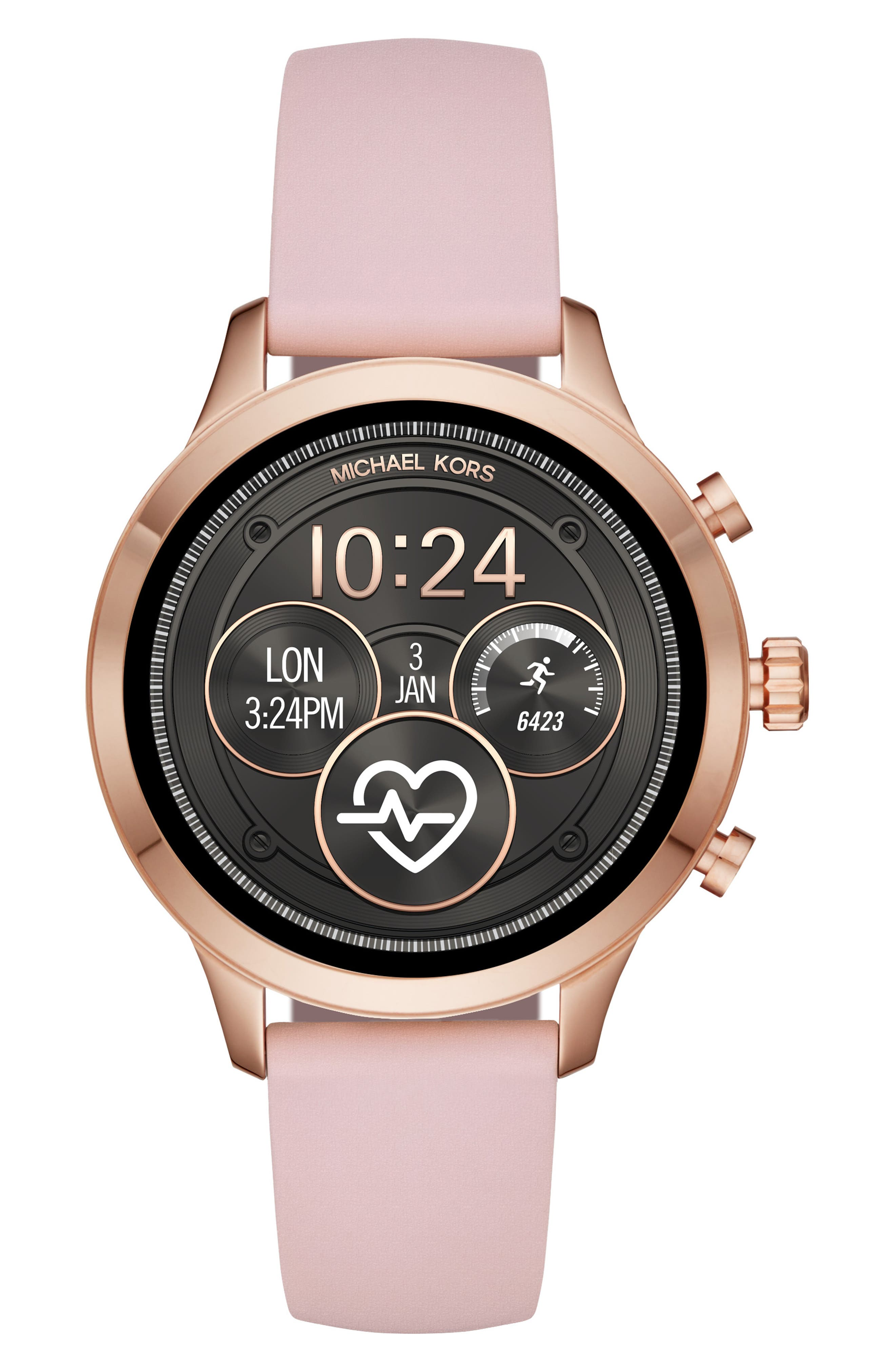 ,                             MICHAEL Michael Kors Access Runway Smart Watch, 41mm,                             Main thumbnail 13, color,                             650
