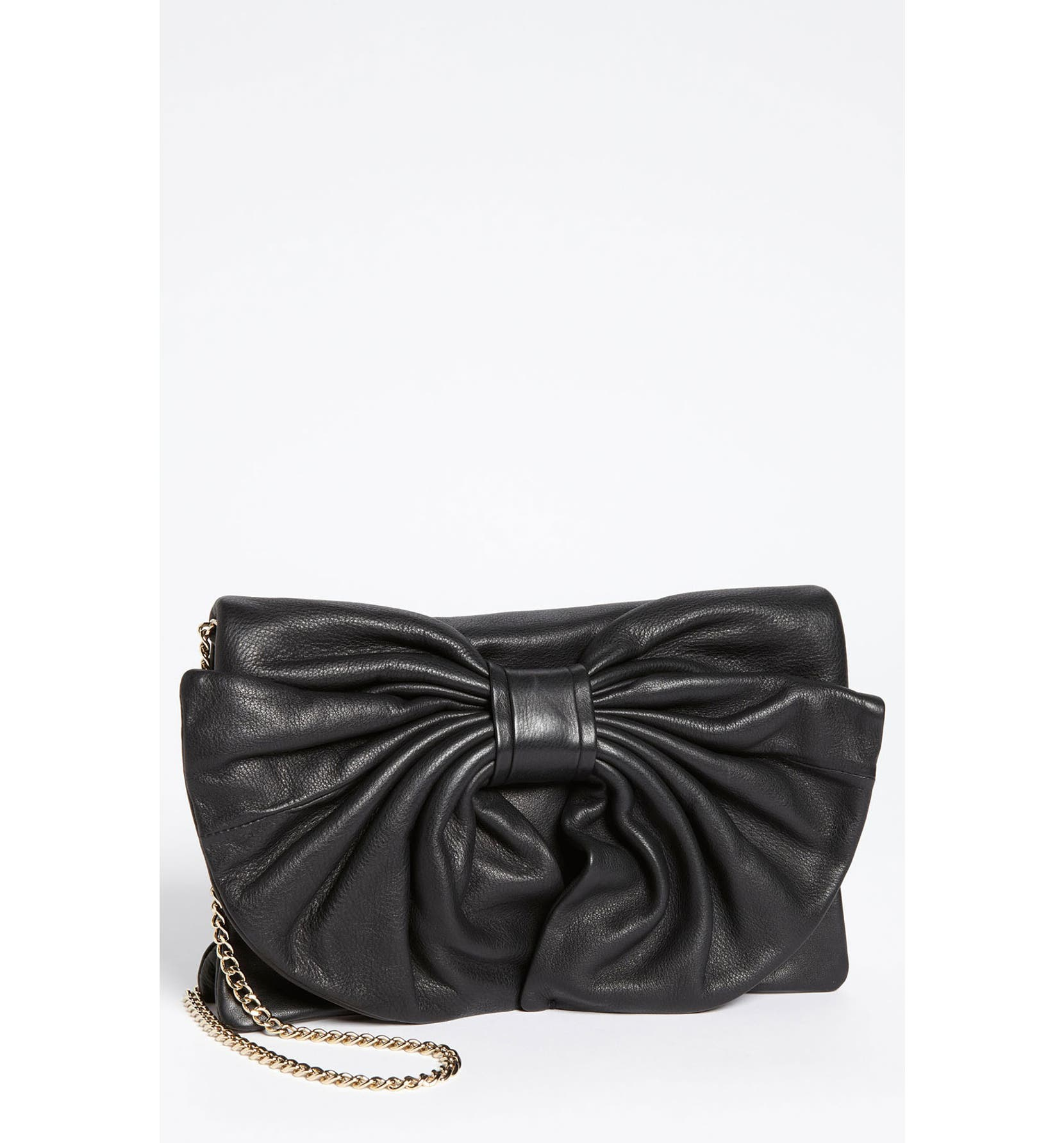 e7c30d7b29a RED Valentino 'Bow' Leather Clutch | Nordstrom