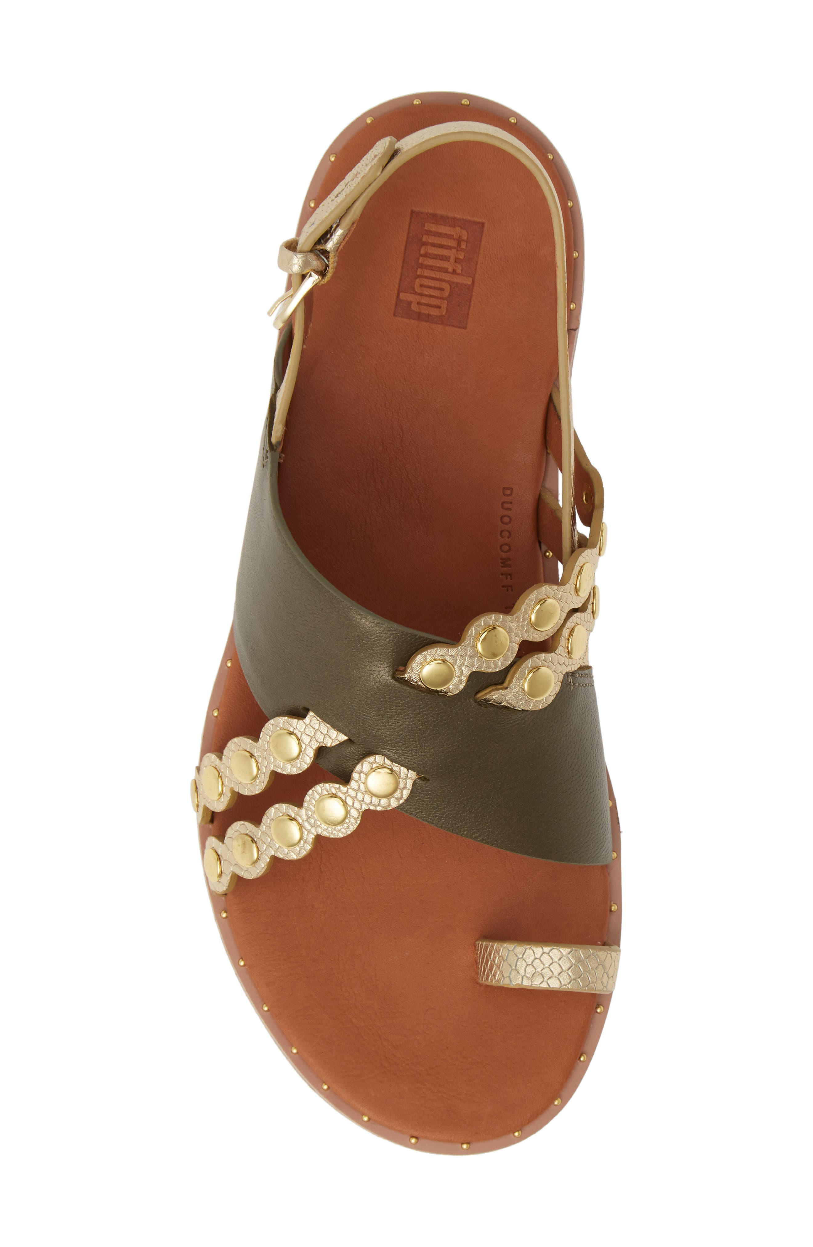 ,                             Scallop Embellished Sandal,                             Alternate thumbnail 17, color,                             353