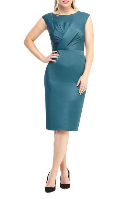 Image of Maggy London Bria Satin Midi Dress