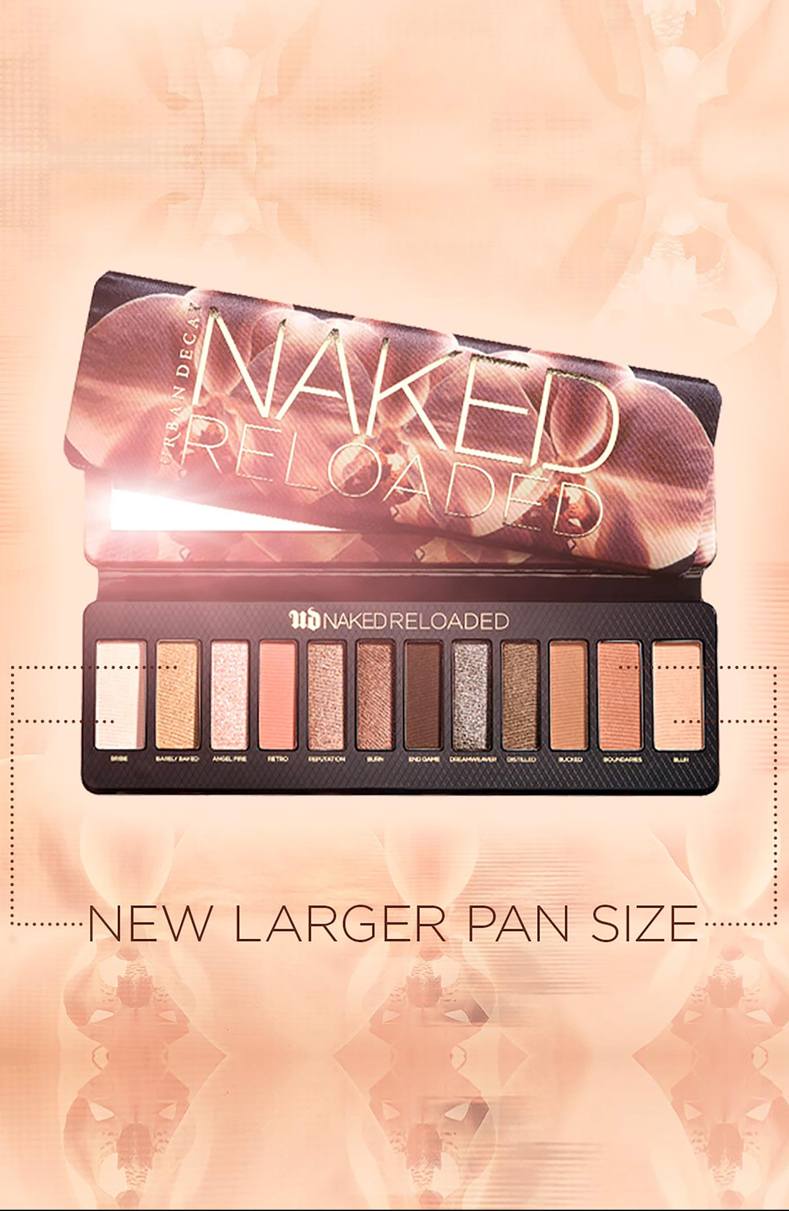 ,                             Naked Reloaded Eyeshadow Palette,                             Alternate thumbnail 7, color,                             NO COLOR