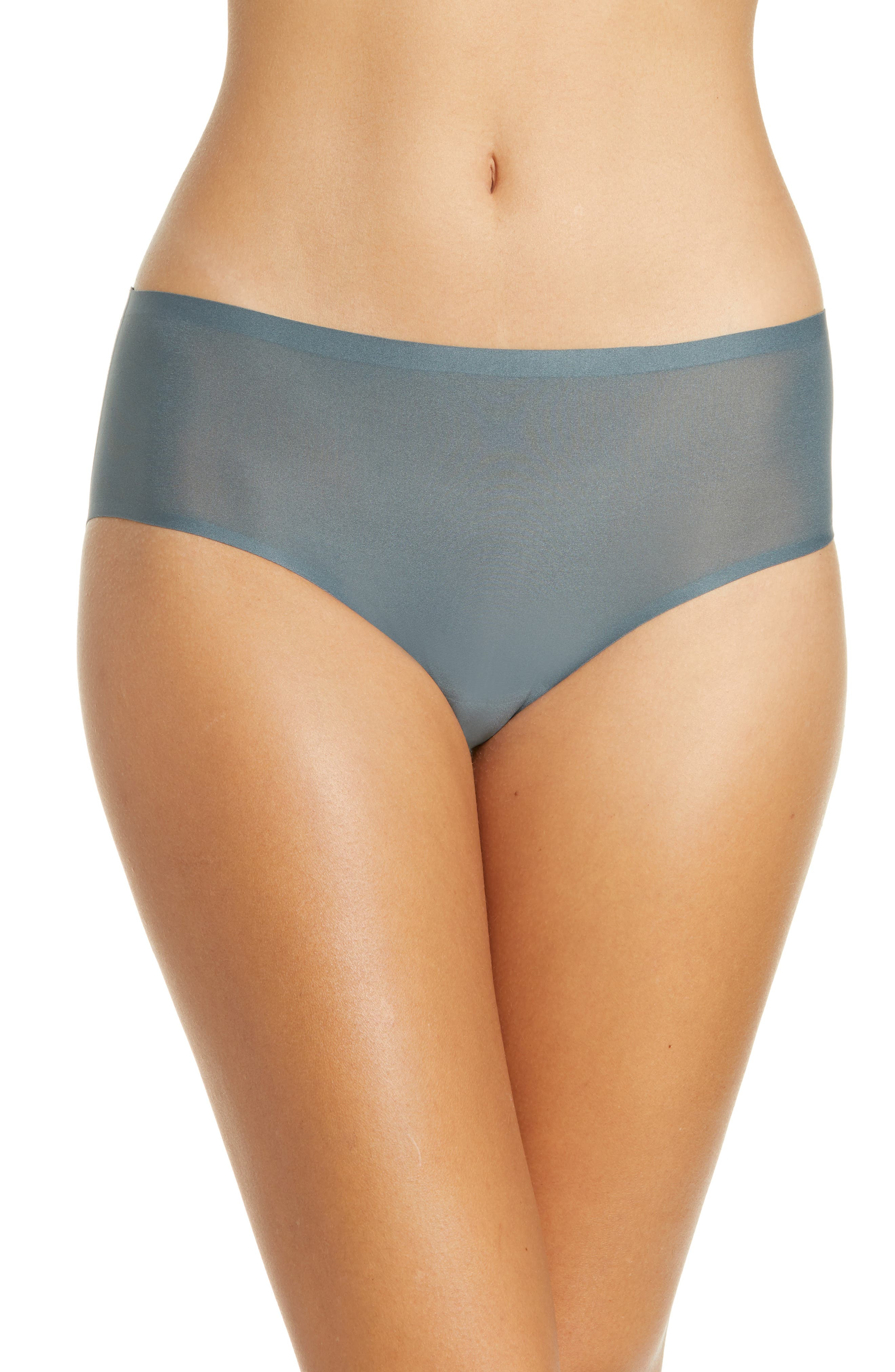 Get a smooth, line-free look without sacrificing comfort in these stretchy hipsters crafted with bonded sides and seamless edges that disappear beneath clothes. Style Name: Chantelle Lingerie Soft Stretch Seamless Hipster Panties (Buy More & Save). Style Number: 5211587. Available in stores.