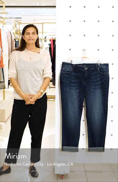 'Catherine' Stretch Boyfriend Jeans, sales video thumbnail