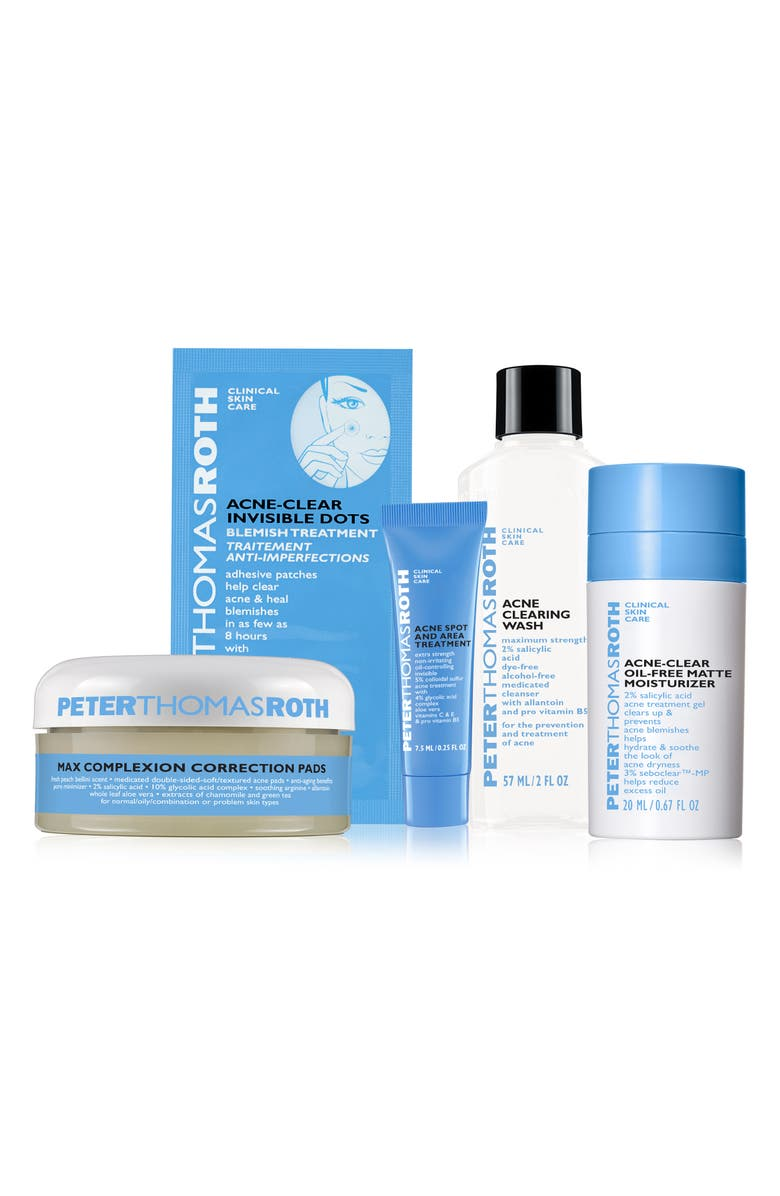 Peter Thomas Roth Acne Clear Essentials Kit Usd 70 Value