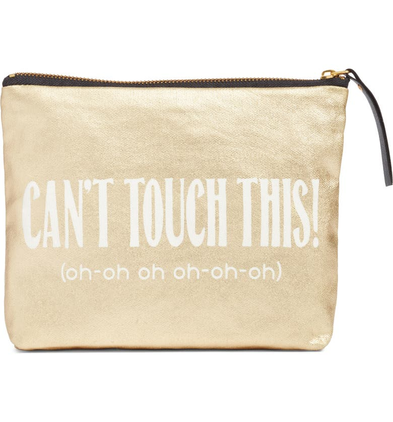 LEVTEX Can't Touch This Zip Pouch, Main, color, 710