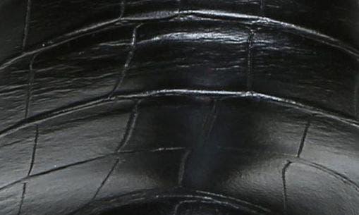 BLACK/ BLACK LEATHER
