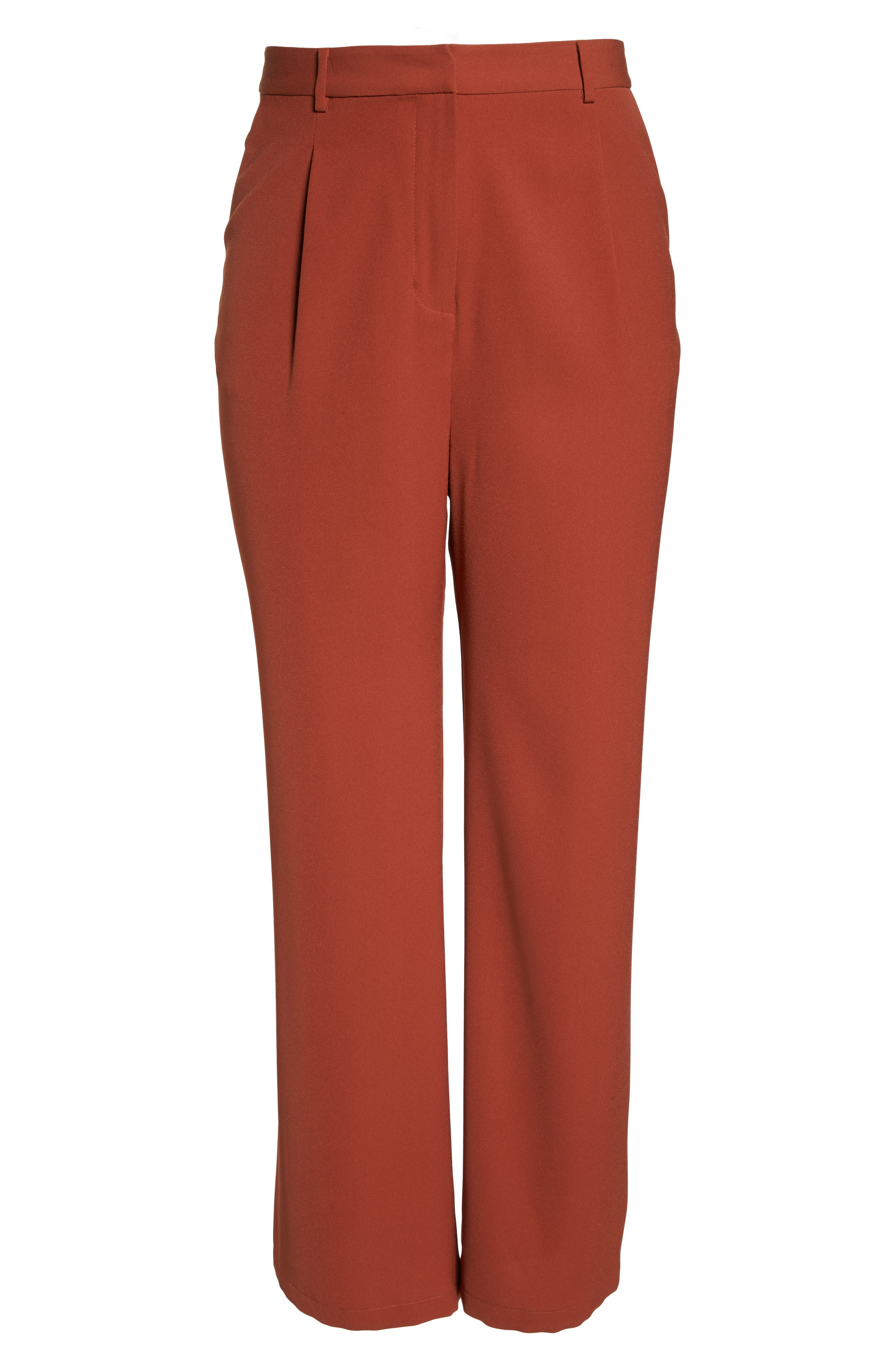 ,                             High Waist Flare Pants,                             Alternate thumbnail 23, color,                             210