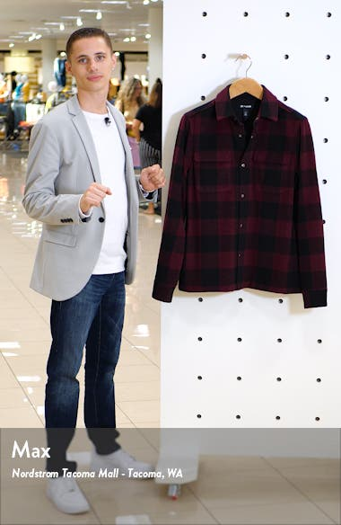 x Alex Costa Brushed Flannel Snap-Up Plaid Shirt Jacket, sales video thumbnail