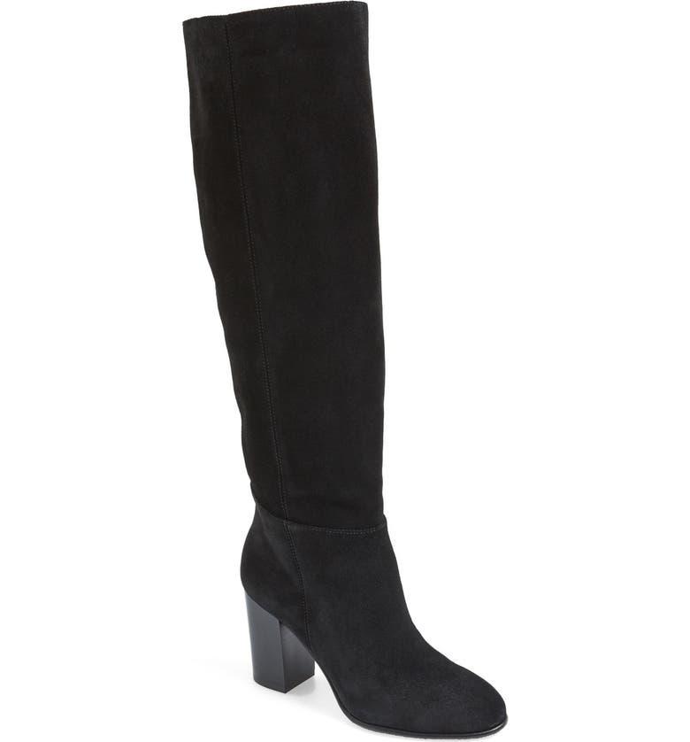 SAM EDELMAN 'Silas' Knee High Boot, Main, color, 001
