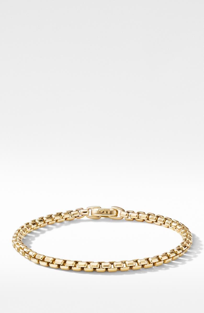DAVID YURMAN Bel Aire Chain Bracelet in 18K Yellow Gold, Main, color, GOLD