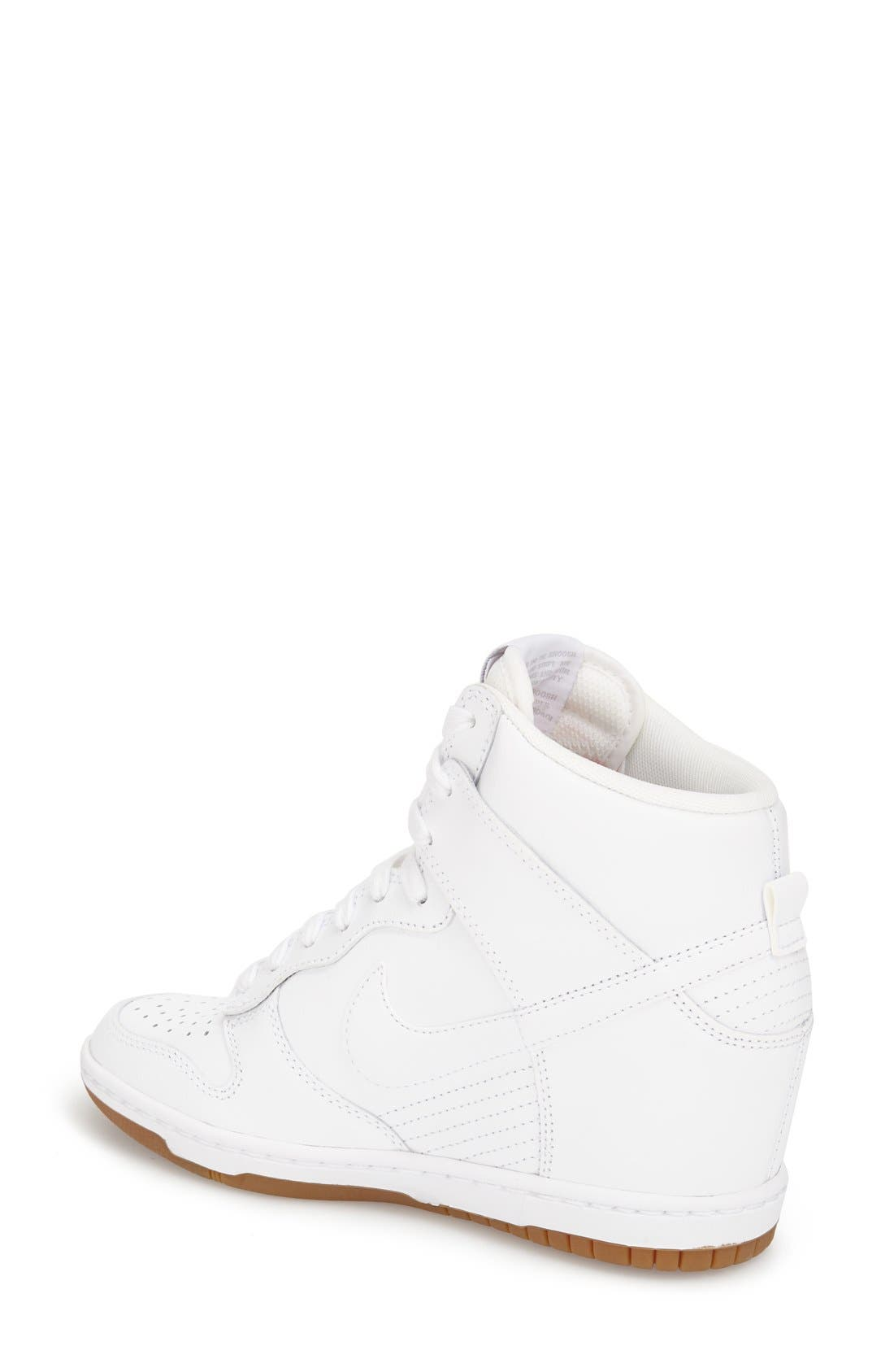 ,                             'Dunk Sky Hi - Essential' Wedge Sneaker,                             Alternate thumbnail 46, color,                             103