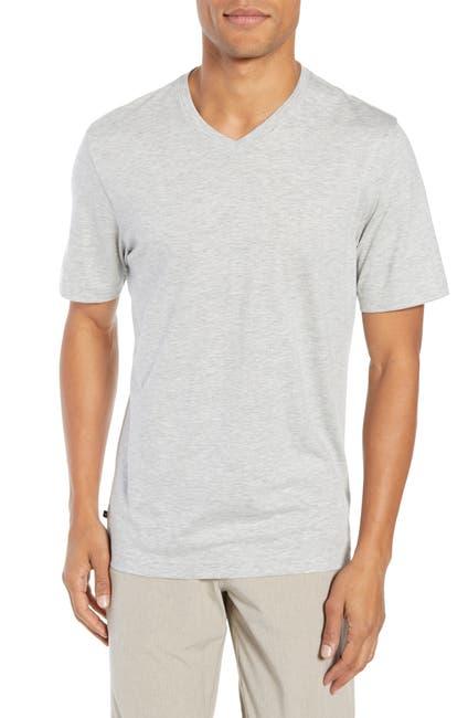 Image of TRAVIS MATHEW Talk to Me V-Neck T-Shirt