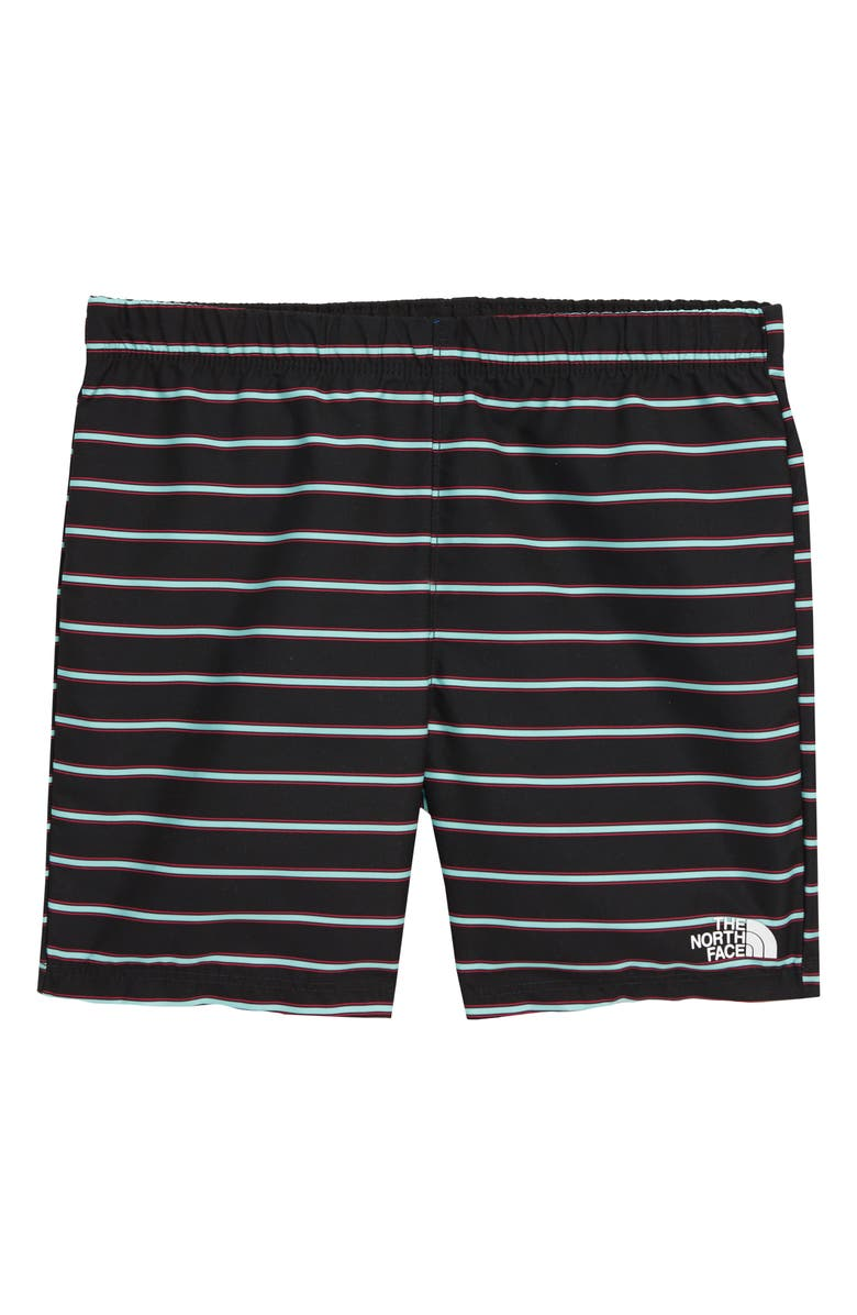 THE NORTH FACE Class V Water Shorts, Main, color, TNF BLACK ALPINE STRIPE PRINT