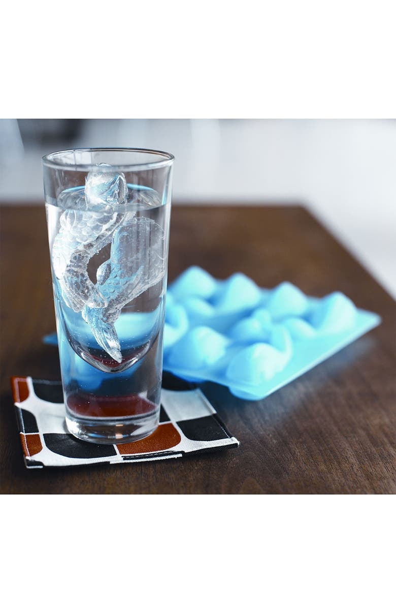 GAMAGO Rubber 'Cold Fish' Ice Cube Tray, Main, color, Blue
