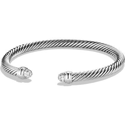 David Yurman Cable Classics Bracelet With Diamonds, 5mm