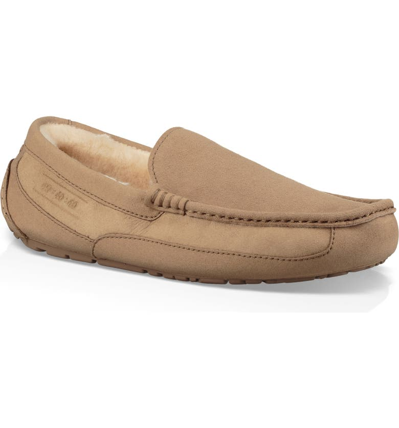 UGG<SUP>®</SUP> Ascot 40:40:40 Anniversary Slipper, Main, color, 201