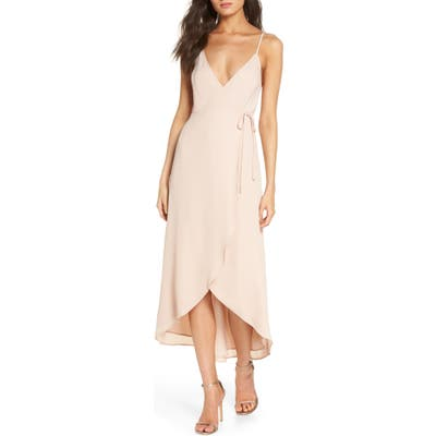 Show Me Your Mumu Meghan Wrap Dress, Pink
