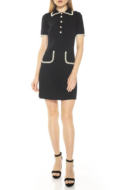 Image of Alexia Admor Piper Short Sleeve Knit Dress